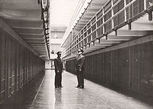 Alcatraz Federal penitentiary, San Francisco Bay , California, Usa