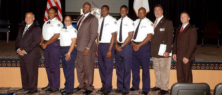 BOP: Corrections Officers from the Virgin Islands Attend BOP