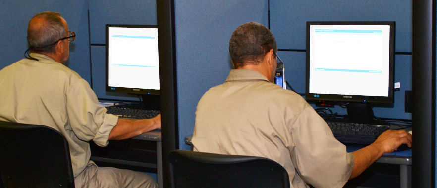 inmates practice ged